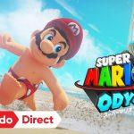 【スーパーマリオオデッセイ】Nintendo Direct(2017.09.14) でわかったことまとめ