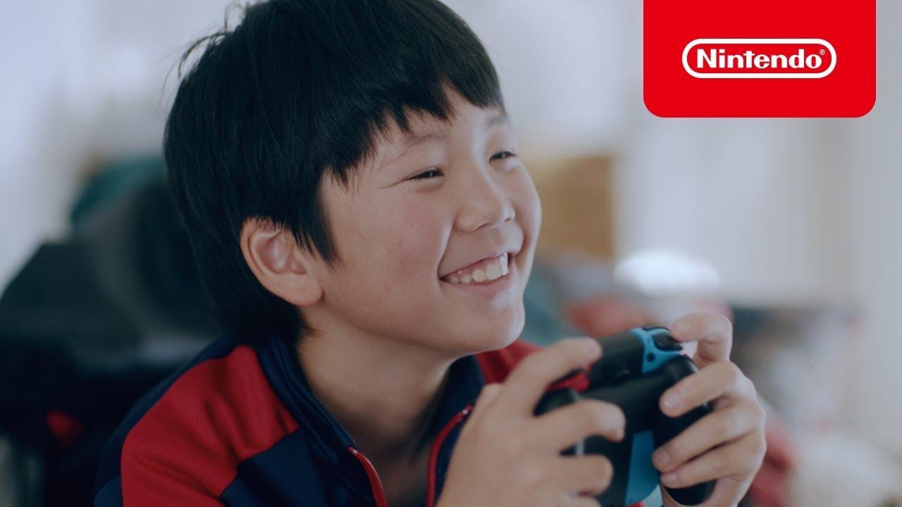【NintendoSwitch】Nintendo Switch 2017-2018冬 CM1 & 2