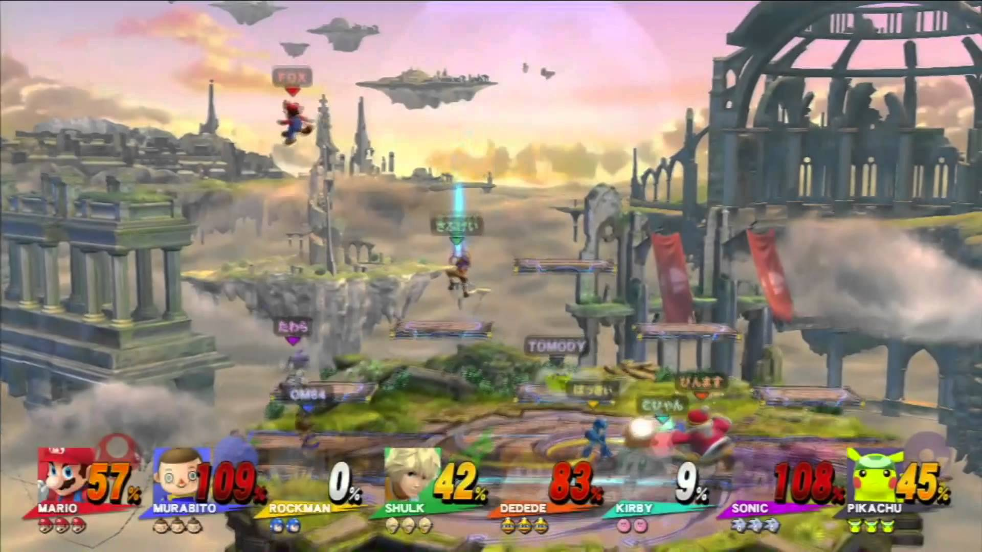 【スマブラ for Wii U】 年末は格闘、年始はスマブラ説。