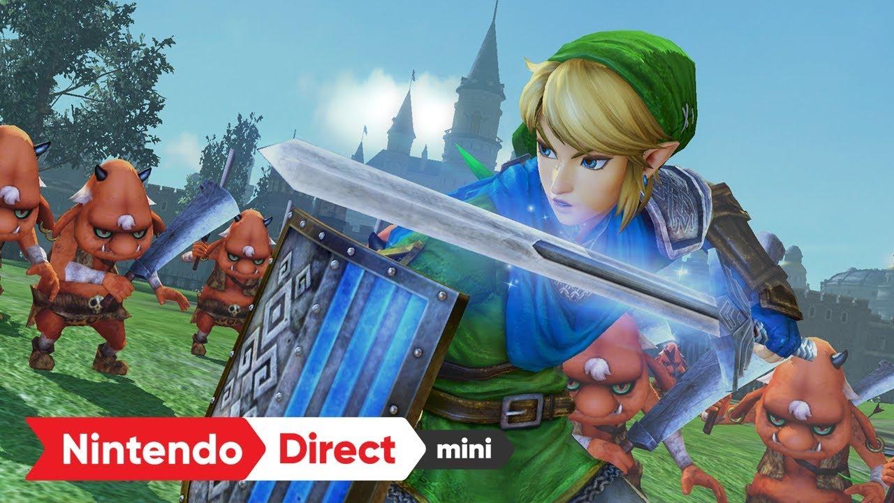 【nintendo Direct mini】2018.01.11 『ゼルダ無双 ハイラルオールスターズ DX』について調べる!