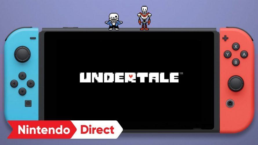 【Nintendo Direct (2018.03.09)】#UNDERTALE そのうち発売!Switchでもテキトー路線