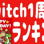 【任天堂】Nintendo Switch 発売1周年!! 2017年3月3日 #NintendoSwitch