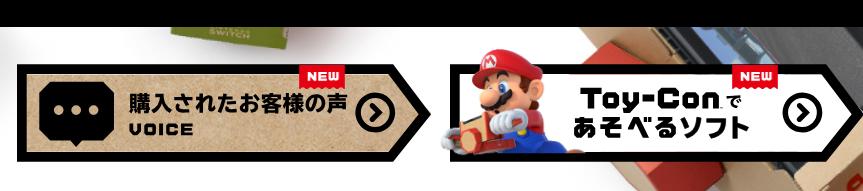 【#ニンテンドーラボ】Toy-Con対応ゲームの第2段以降、体験者のアンケート発売日以降 #NintendoLabo