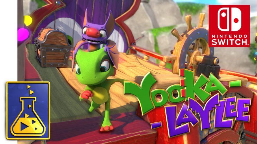 【#Team17】のゲームを遡って知る!第6回は「#Yooka-Laylee」 #オーバークック に、魅せられて