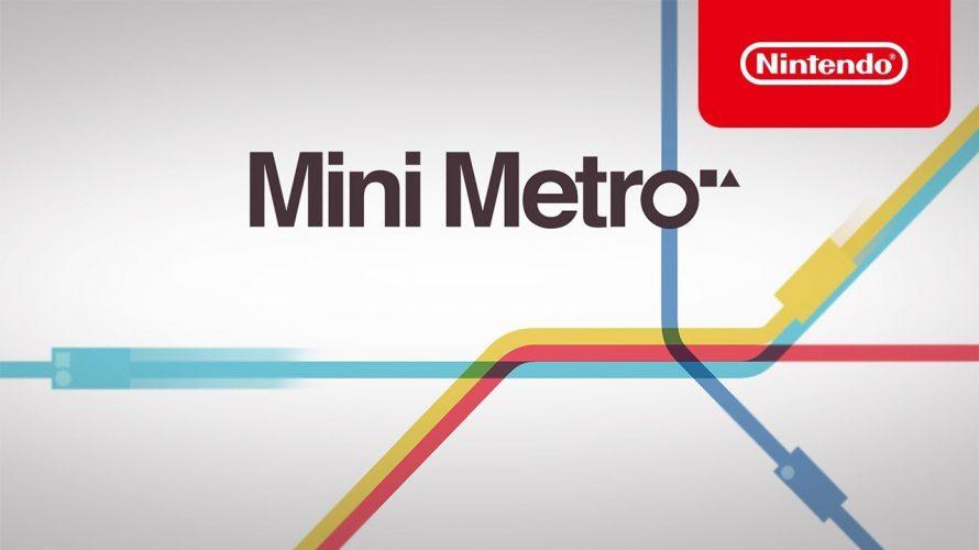 【#ミニメトロ (Mini Metro)】第4回 2019年上半期にプレイすべき #インディーゲーム Indie World 2018.12.27 を、見て