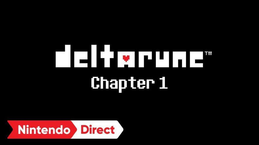 【#deltarune】#UNDERTALE の文字列を並べ替えると・・・だったのか。 #Nintendo Direct: 2019.02.14
