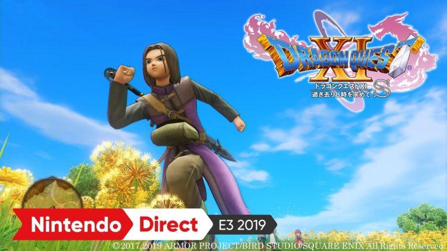 【#ドラクエ11S】追加ファイター待ちだった?遅すぎるSwitch版。視聴回数低すぎ  #E32019 で気になったソフト その2 ドラゴンクエストXI 過ぎ去りし時を求めて S 2019年09月27日 #NintendoDirectJP