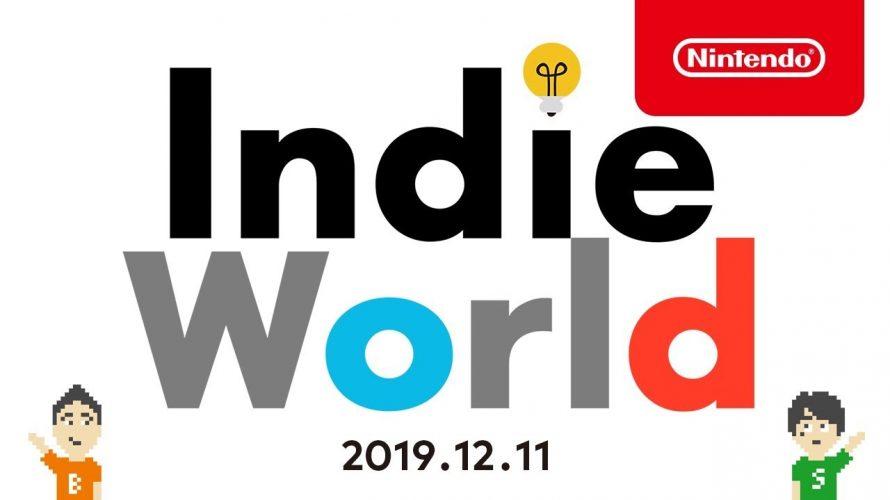 「Indie World 2019.12.11」TOP7本。やるべきゲーム、やるべき理由 まとめ #インディーワールド