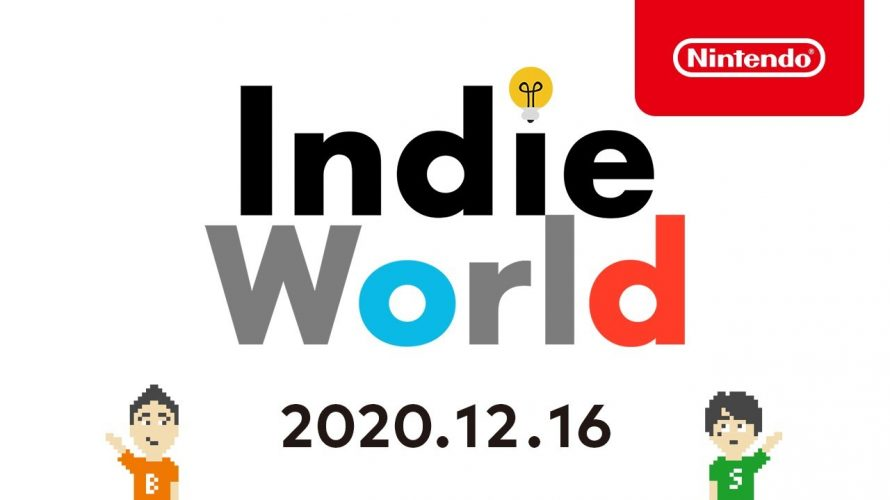 「Indie World 2020.12.16」TOP5本。やるべきゲーム、やるべき理由 まとめ #インディーワールド